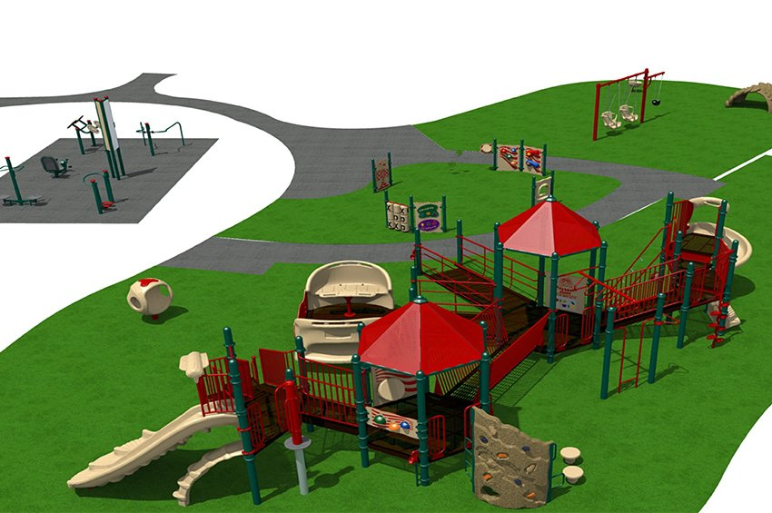 The Playground At Flag Pole Hill Update For The Love Of